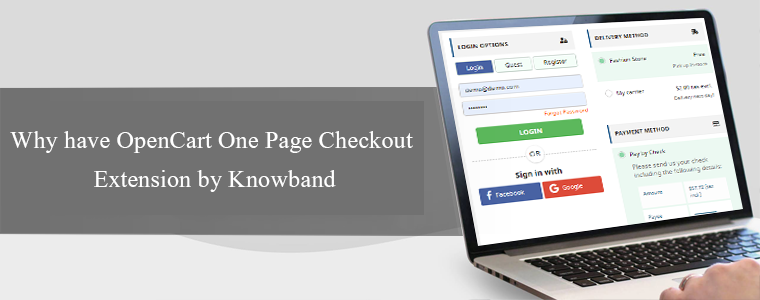 OpenCart One Page Checkout by Knowband
